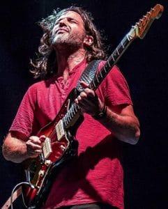 Jonathan Goldberger playing guitar