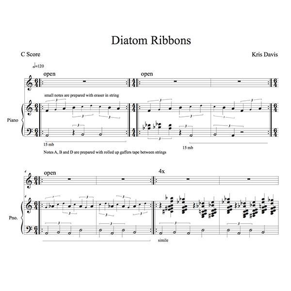 Complete Scores from Diatom Ribbons - Kris Davis