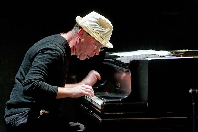 Wayne Horvitz at Piano